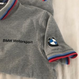 BMW motorsport golf shirt size large
